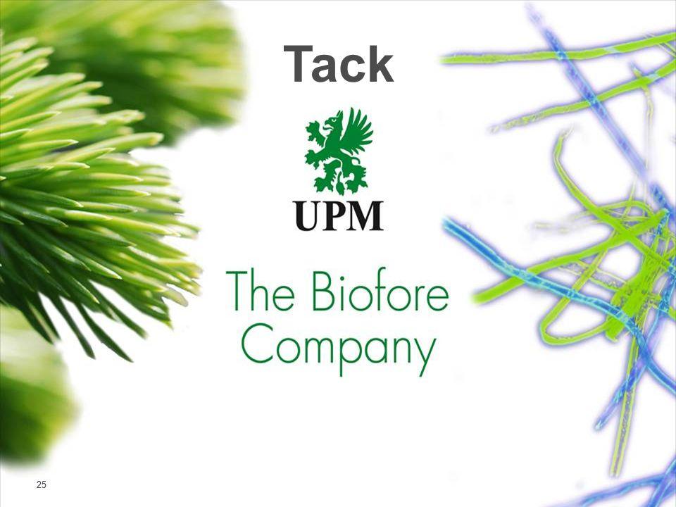 | © UPM 25 Tack