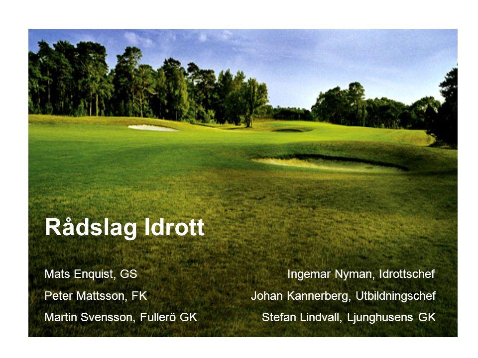 Mats Enquist, GS Ingemar Nyman, Idrottschef Peter Mattsson, FK Johan Kannerberg, Utbildningschef Martin Svensson, Fullerö GK Stefan Lindvall, Ljunghus