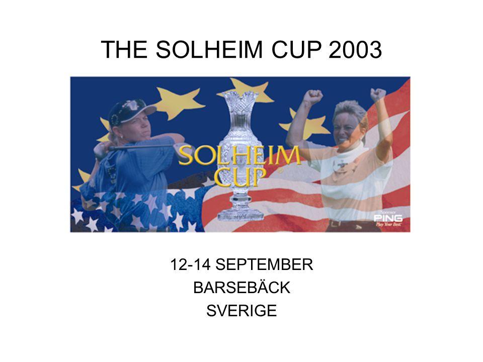Historien om familjen Solheim Familjen Solheim –Emigrerade från Norge 1913 –Verkar idag i Phoenix, Arizona Karsten Manufactoring Corporation –Putter - Ping - Patent –Startades av Karsten Solheim 1959.