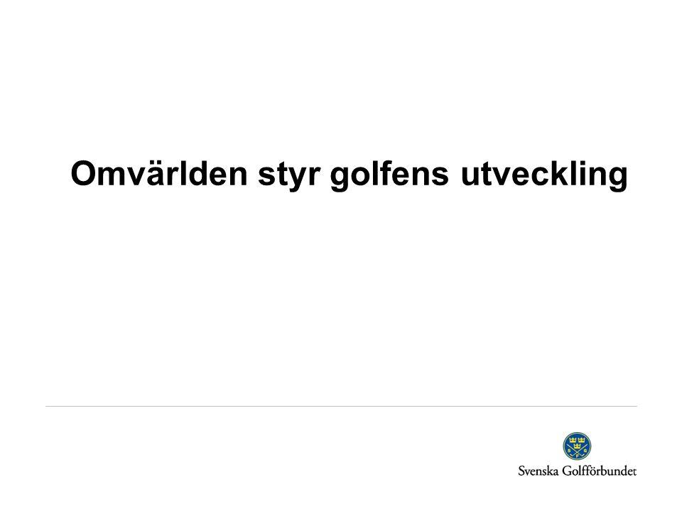 Vad gjorde golfen attraktiv och stor?