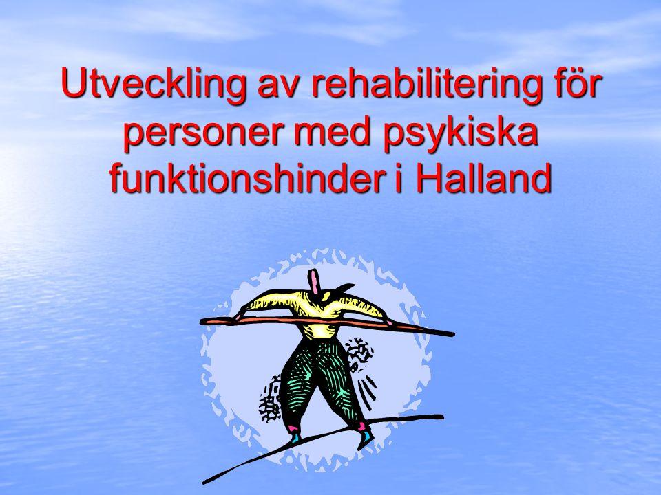 Dagens presentation 1.Utvecklingsprojektet i Halland 2.