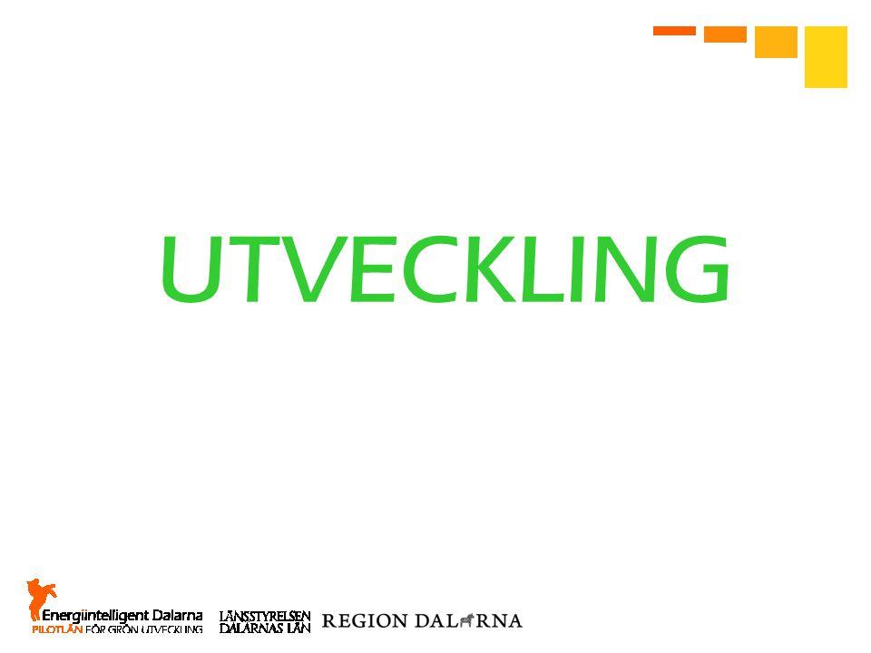 UTVECKLING