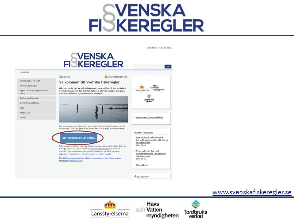 www.svenskafiskeregler.se