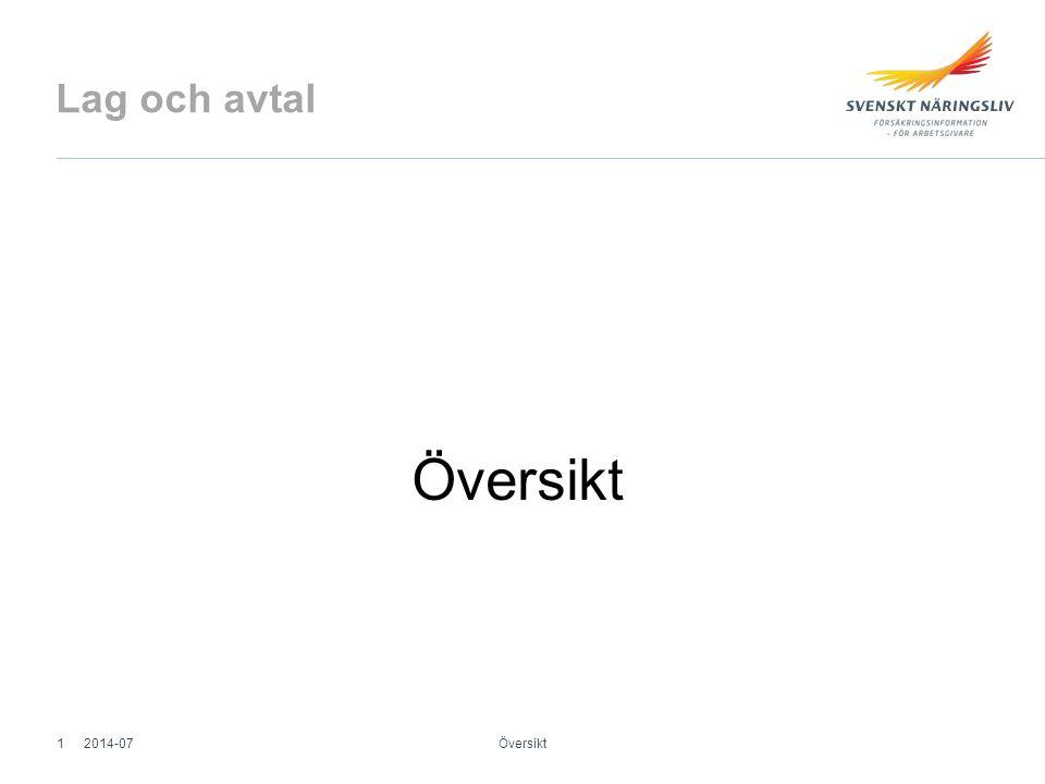 Lag och avtal Översikt 2014-071