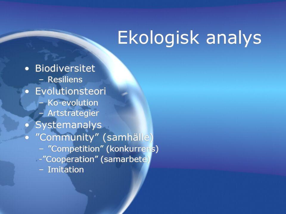 Populationsdynamik Befolkningsprognos