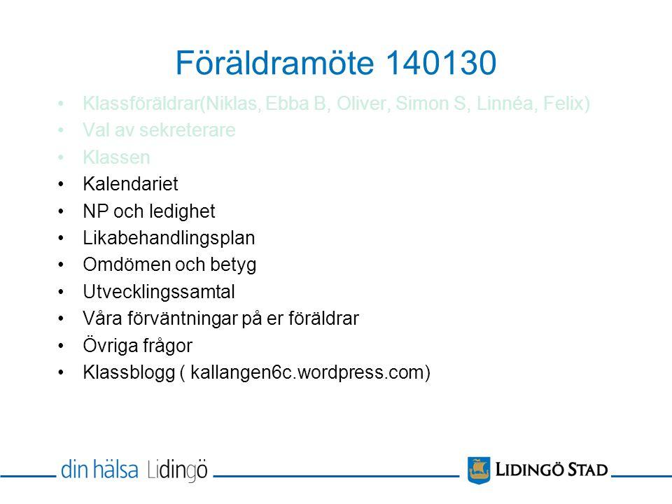 Sömn Kost Läxor Läxstuga(må och on: 14.00- 15.45)