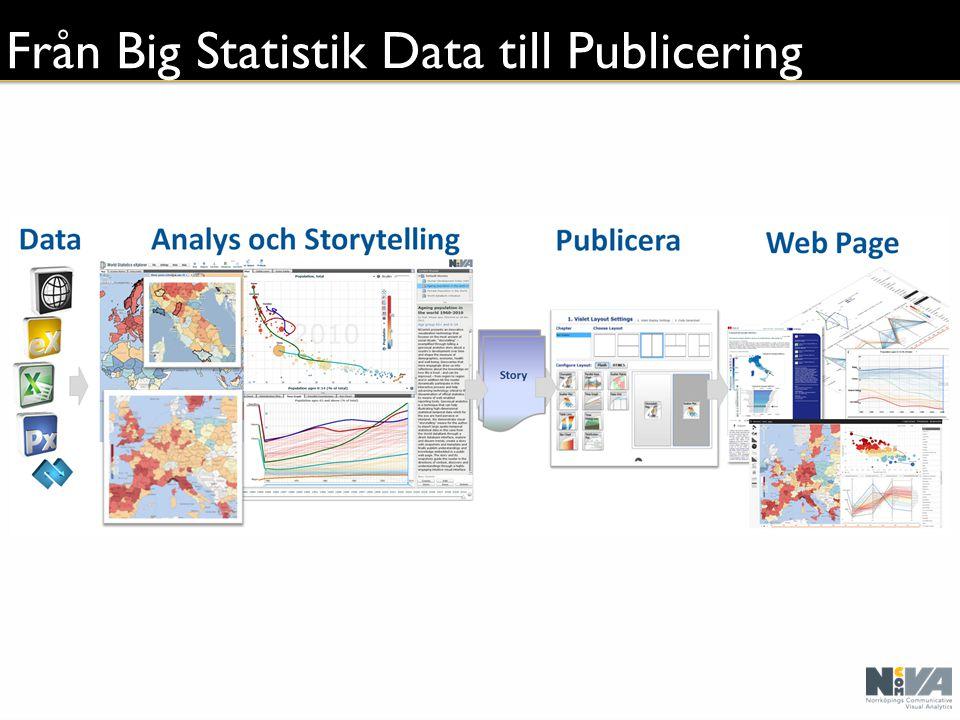 Från Big Statistik Data till Publicering