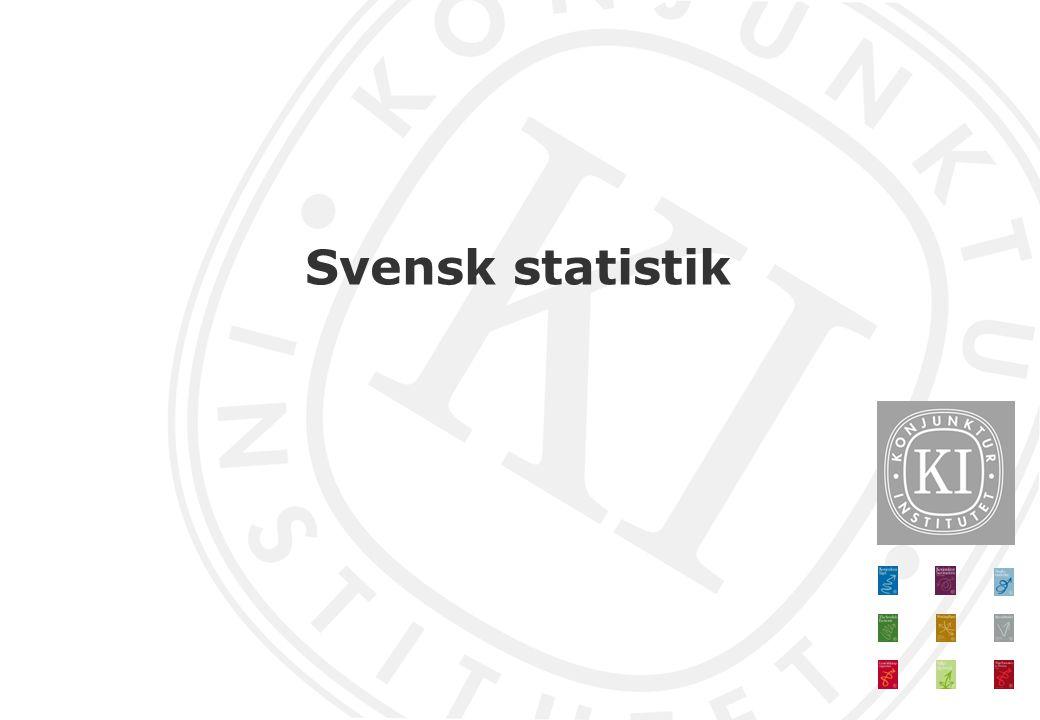 Svensk statistik