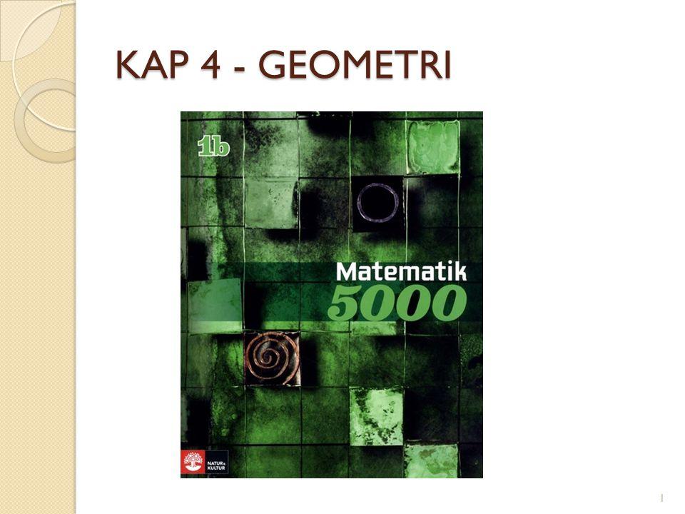 KAP 4 - GEOMETRI 1