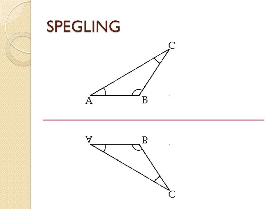 SPEGLING