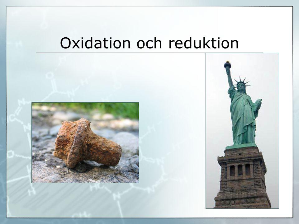 Oxidation och reduktion