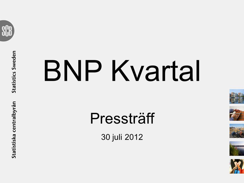 BNP Kvartal Pressträff 30 juli 2012