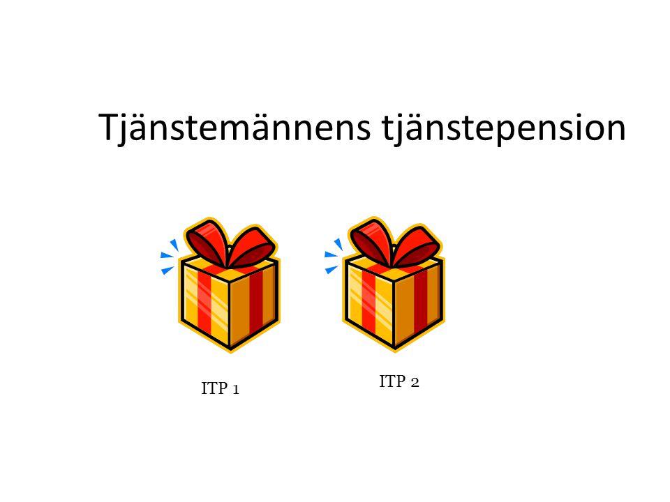Premiebestämd ITP 1Förmånsbestämd ITP 2 Tjänstemän födda 1979 och senare Tjänstemän födda 1978 och tidigare Två pensionsplaner
