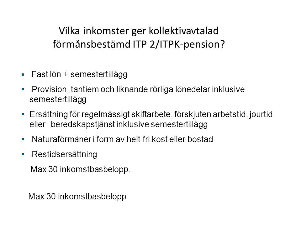 Premie varje månad till pension  Pensionspremien beräknas på kontant bruttolön .