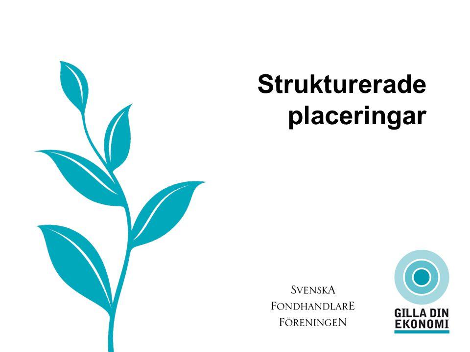 Strukturerade Placeringar Strukturerade placeringar Okänt? Snårigt? Möjligheter? Risker?