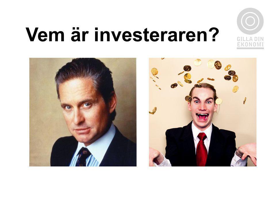Vem är investeraren?