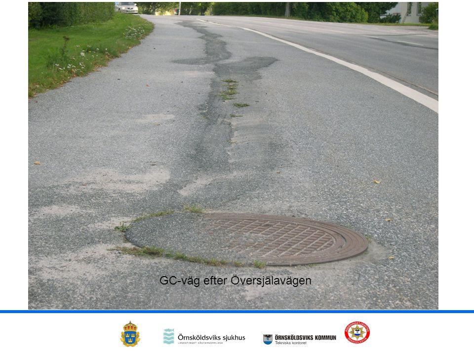 GC-väg efter Översjälavägen
