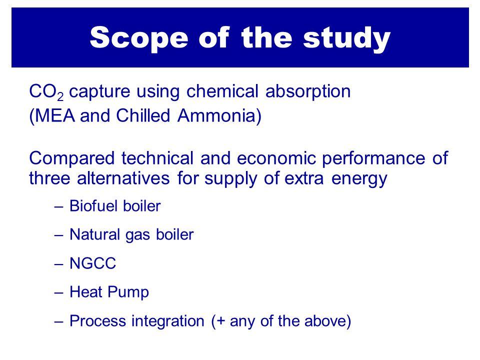 Koldioxidavskiljning med MEA