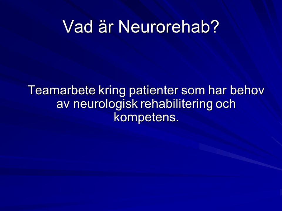 Vad är Neurorehab.