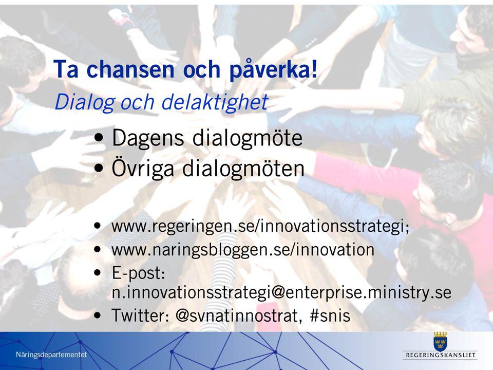 2011 Regioner Myndigheter Företag Nätverk Ideella org.