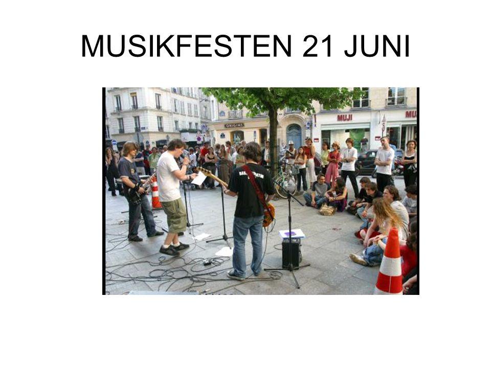 MUSIKFESTEN 21 JUNI
