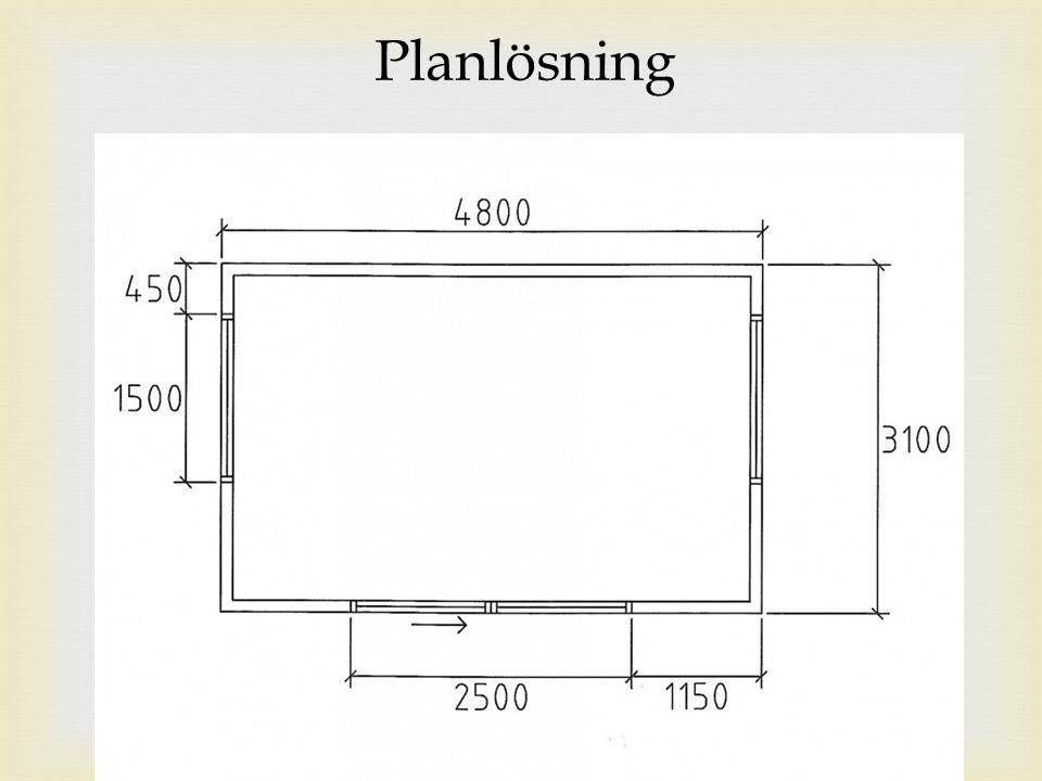 Planlösning