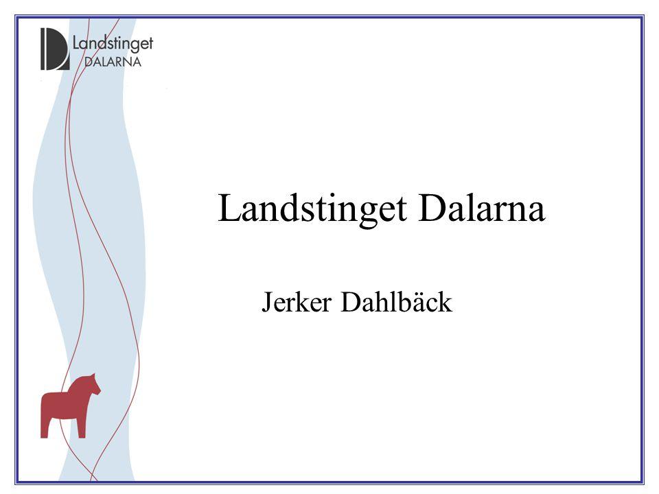 Landstinget Dalarna Jerker Dahlbäck