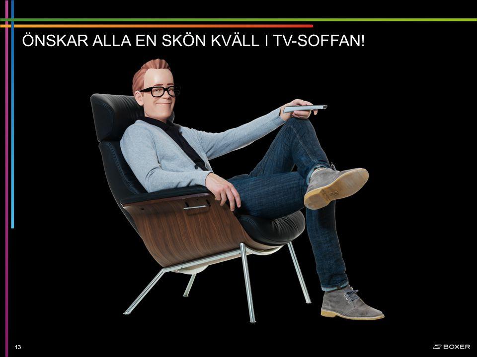 Konfidentiellt ÖNSKAR ALLA EN SKÖN KVÄLL I TV-SOFFAN! 13