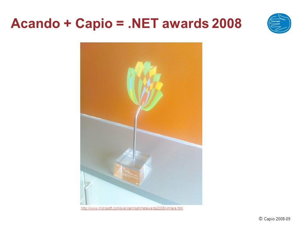 © Capio 2008-09