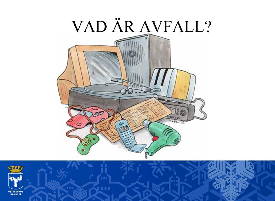 Renhållning Östersund Ska avfall vara något problem.