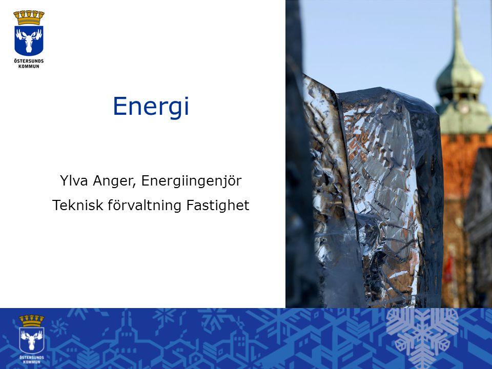 Energi Ylva Anger, Energiingenjör Teknisk förvaltning Fastighet