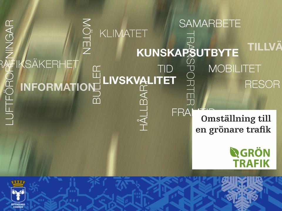 Transporterna – största delen av koldioxidutsläppen i Östersund Foto: Stefan Linnerhag Foto: Magnus Engdahl
