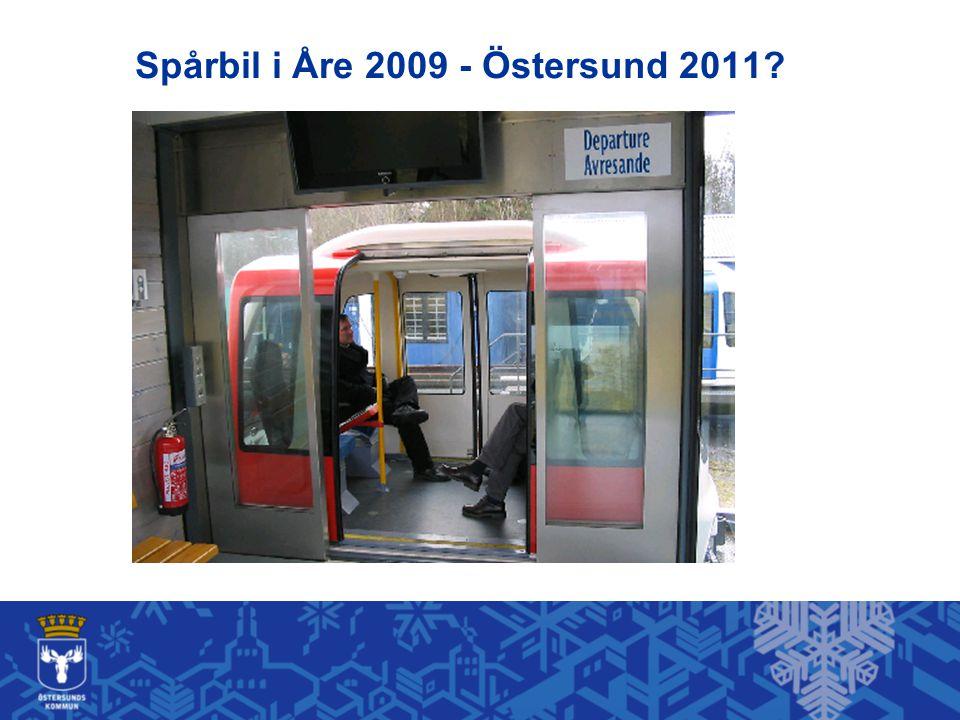 Spårbil i Åre 2009 - Östersund 2011