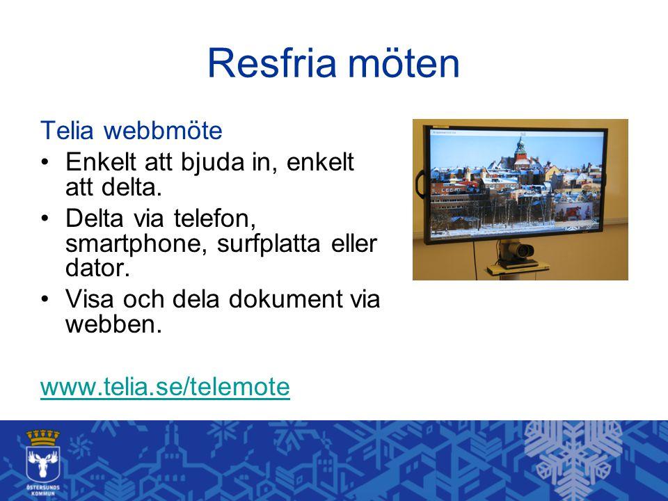 Resfria möten Telia webbmöte Enkelt att bjuda in, enkelt att delta. Delta via telefon, smartphone, surfplatta eller dator. Visa och dela dokument via