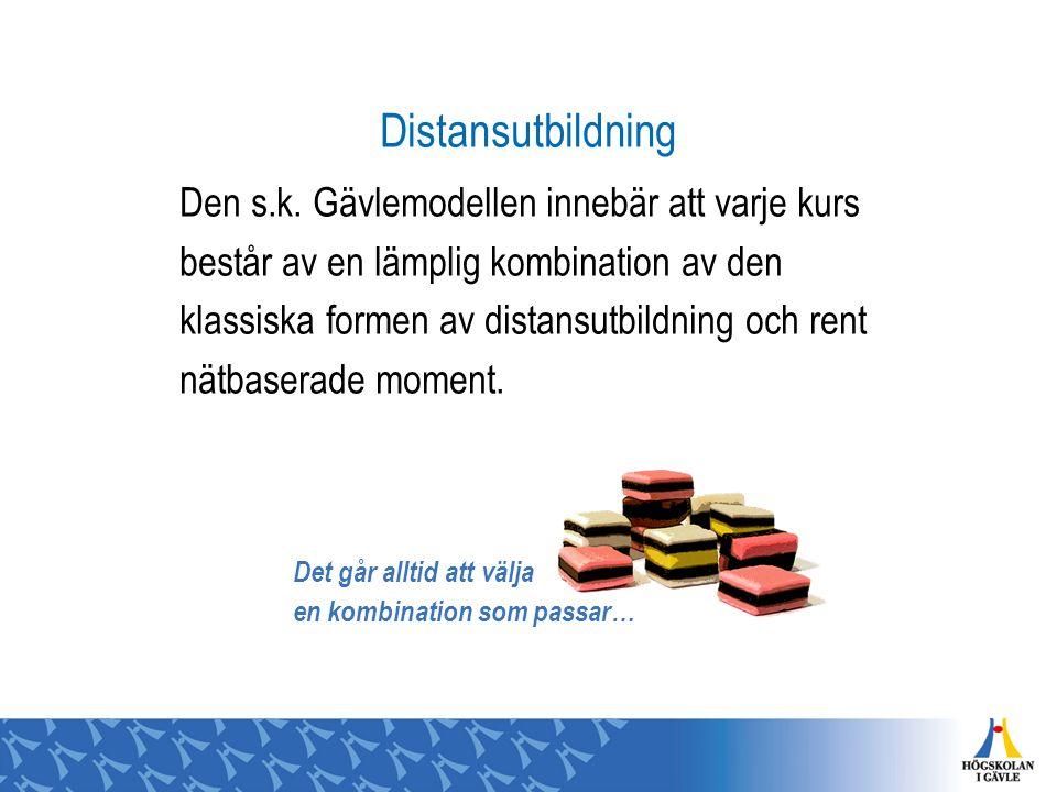 Distansutbildning Den s.k.