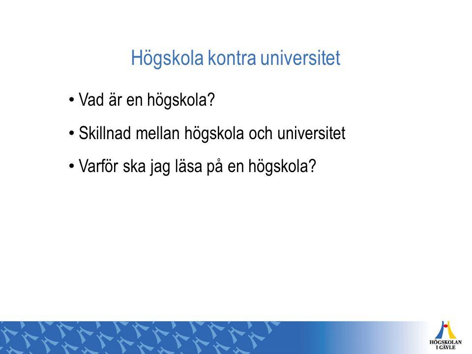 Högskola kontra universitet Vad är en högskola? Skillnad mellan högskola och universitet Varför ska jag läsa på en högskola?