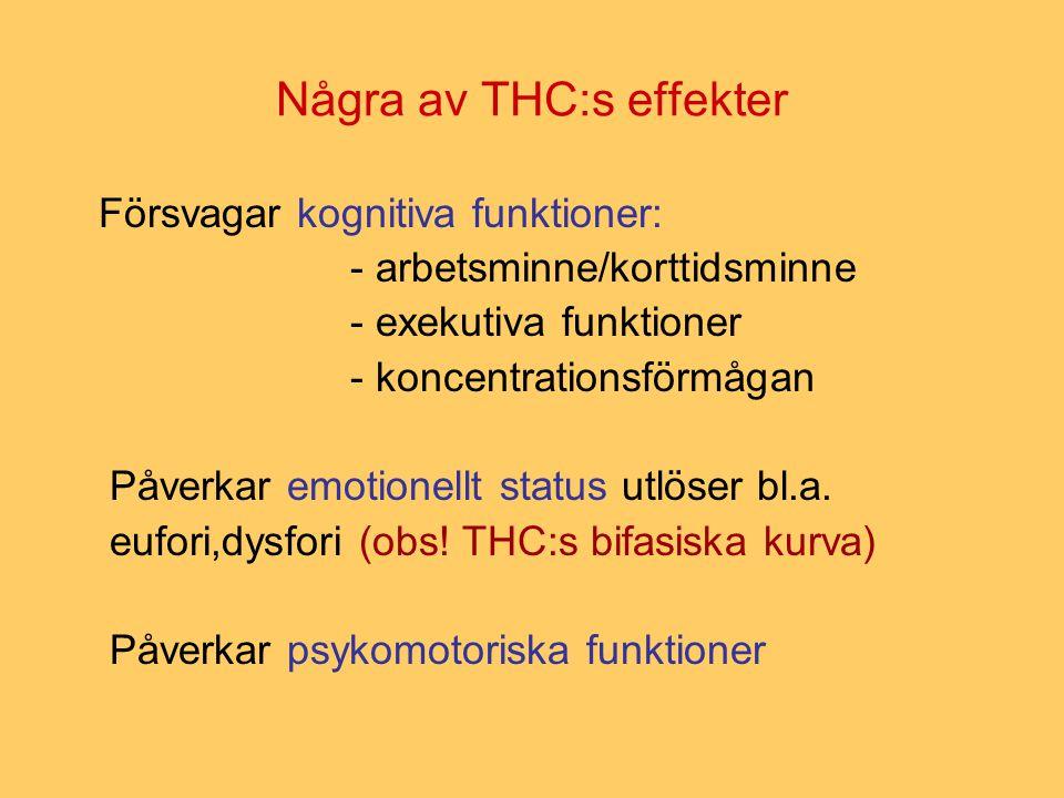 Översikt (review) I (Louise Arsenault och medarbetare, 2004) Slutsatser: På en individuell nivå bidrar cannabisbruk genomsnittligt med en fördubbling av risken för senare utbrott av schizofreni.