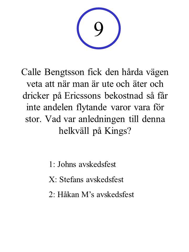 Till vilken låt utförde Håkan Mattisson sin punkdans under sista pubkvällen i Porslinan.
