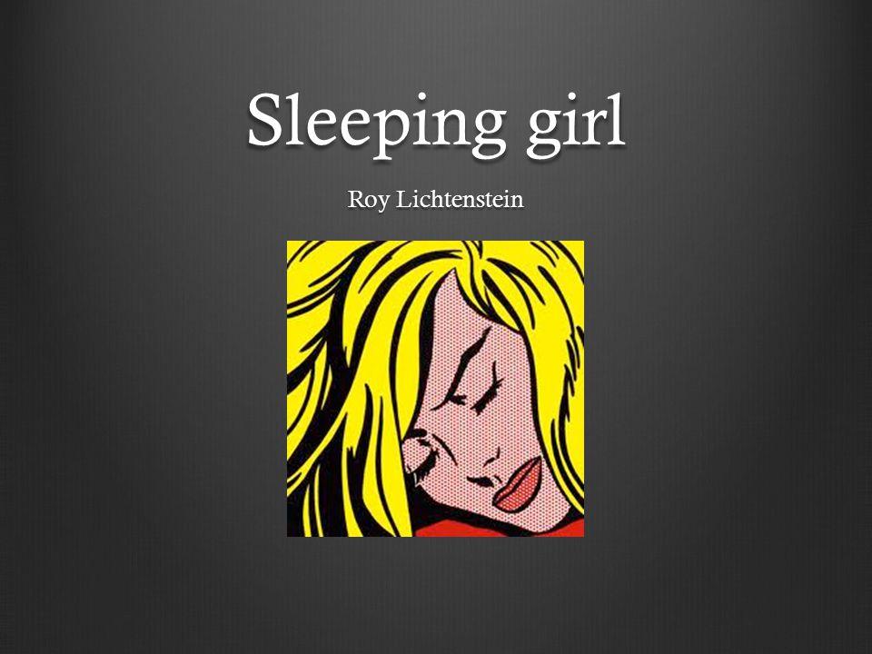 Sleeping girl Roy Lichtenstein