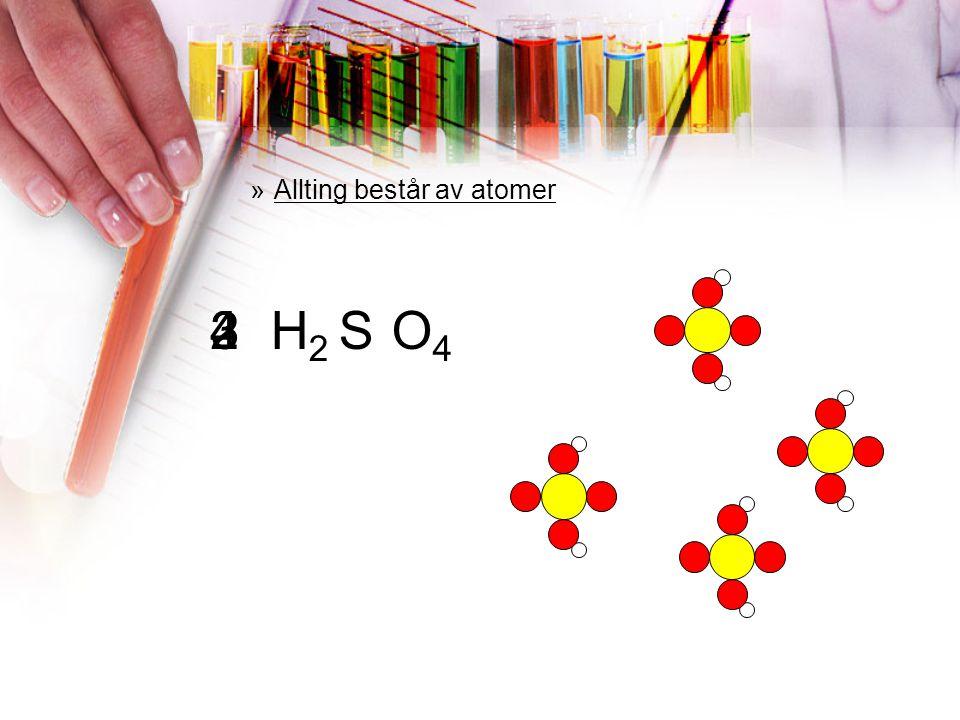 FRÅGA 5 Vilket är rätt om atomerna till höger? a)Det är ett grundämne b)Det är en kemisk förening c)Det är molekyler d)Det är både molekyler och en ke