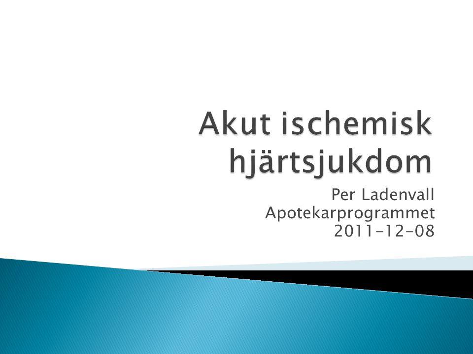 Per Ladenvall Apotekarprogrammet 2011-12-08