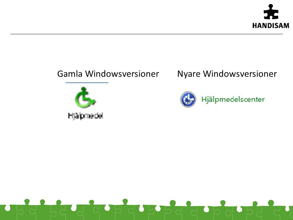 Gamla WindowsversionerNyare Windowsversioner