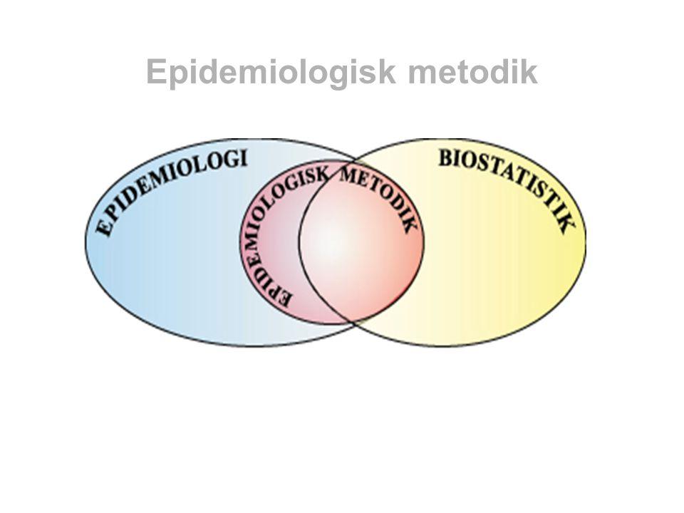 Epidemiologisk metodik