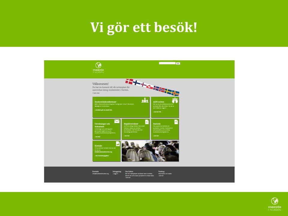 Förvaltning CSN förvaltar webbportalen – avtal med webbyrå (hosting, support, teknisk förvaltning, större ändringar) – finansiering – support till redaktörer.