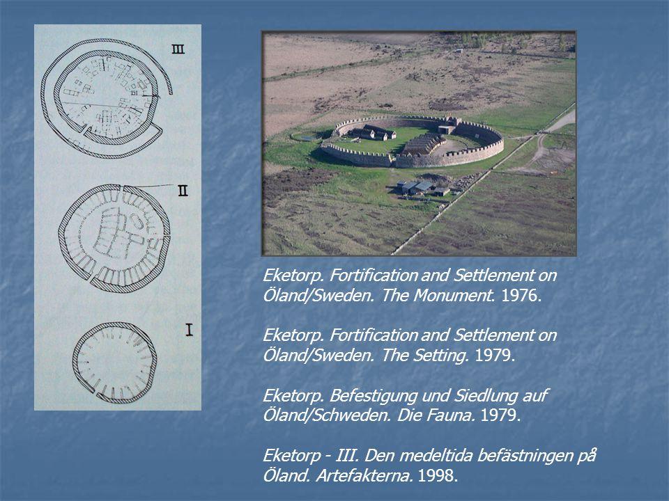 1985-2000Landskapsorienterade fasen Förhistoria: Undersökningarna på Helgeandsholmen i Stockholm 1978-1980