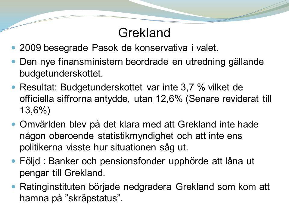 Grekland Vägval : Om Grekland som i allt väsentligt brutit mot de flesta fastställda regler nu skulle räddas skulle detta skicka en tydlig signal till andra länder och till banker.