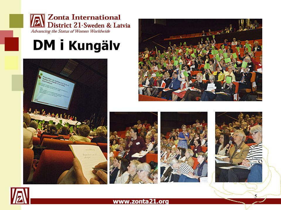 www.zonta21.org 5 DM i Kungälv