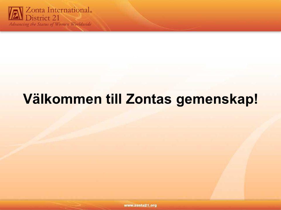 Välkommen till Zontas gemenskap!