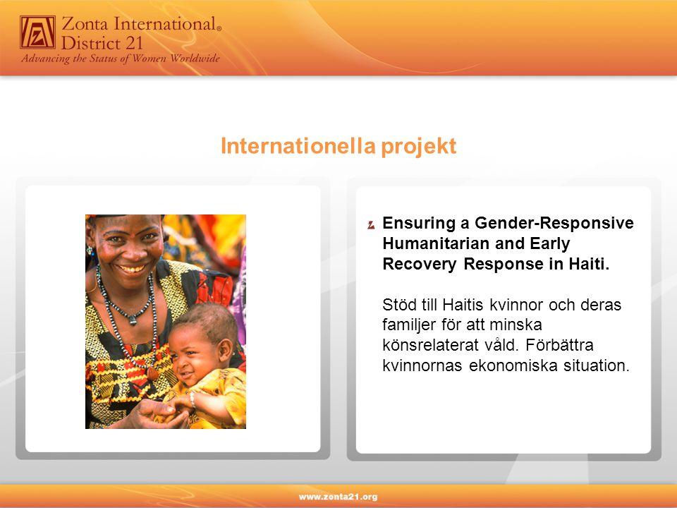 Kvinnors utbildning och yrkesutveckling är ett viktigt verksamhetsområde för Zonta.