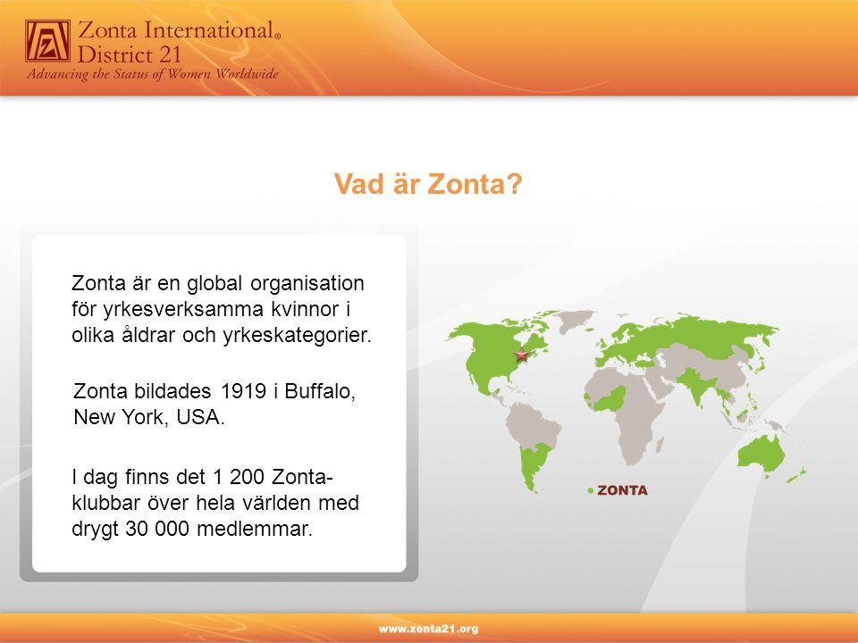 I Sverige finns 66 Zontaklubbar, från Kiruna i norr till Trelleborg i söder.